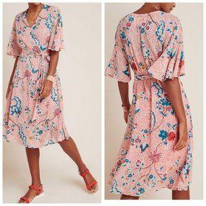 Anthropologie Maeve Adelaide Wrap dress NWT XS